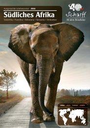 Scharff Reisen - Südliches Afrika 2014