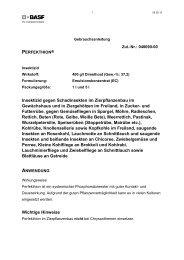 GA Perfekthion - BASF Pflanzenschutz Deutschland
