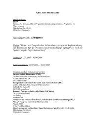 Forschungsprojekt Nr.: 05HS019 Thema: