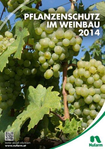 Folder Weinbau