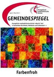 Gemeindespiegel April 2013 - EmK