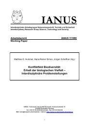ianus 7/1999 - IANUS - Technische Universität Darmstadt