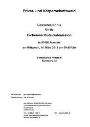 Pk-Wald - Bayerische Staatsforsten