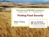 Opening Session - Introductory Speech - Global ... - Iaom-mea.com