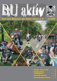 Das Info-Magazin der Biker Union eV 2/2009