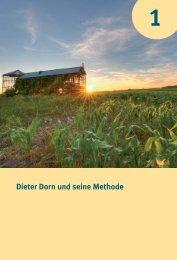 Dieter Dorn und seine Methode