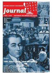 Bürger und Gäste Journal Horn-Bad Meinberg