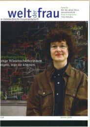 ie bsterreichische Frauenzeitschrift - IAP/TU Wien