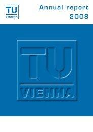 Annual report 2008 - IAP/TU Wien - Technische Universität Wien