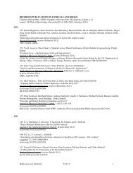 refereed publications in journals and books - IAP/TU Wien