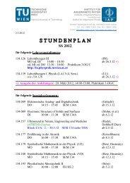 SS 2012 - IAP/TU Wien