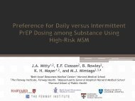 Preference for Daily versus Intermittent PrEP Dosing among ... - IAPAC