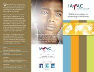 to learn more about IAPAC.