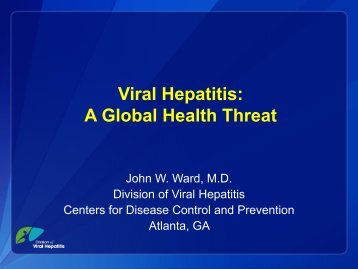 A Global Snapshot of Viral Hepatitis Morbidity and Mortality - IAPAC