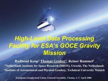 GOCE: Gravity