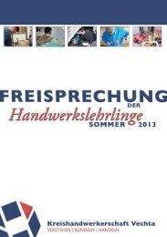 Freisprechung Broschuere Sommer 2013 - Kreishandwerkerschaft ...