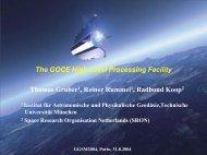 HPF - Institut für Astronomische und Physikalische Geodäsie ...