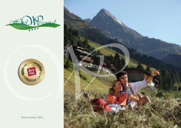 Sommer Preisliste 2013 (PDF, 2MB) - Hotel Wiesental