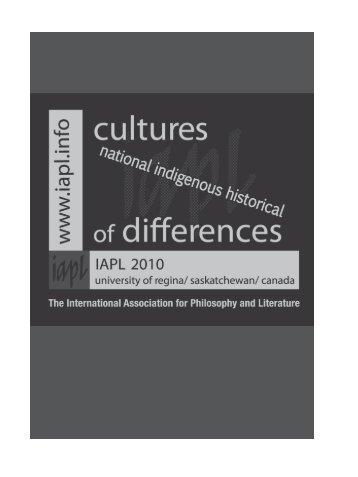 Conference program - The International Association for Philosophy ...