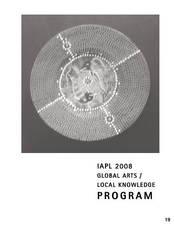 Program - The International Association for Philosophy and Literature