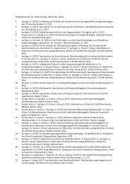 Publikationsliste Dr. Springer (pdf)