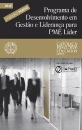 Programa de Desenvolvimento em Gestão e Liderança ... - IAPMEI