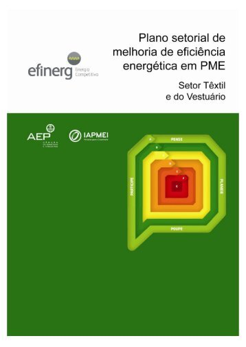 Eficiência Energética no Setor Têxtil e do Vestuário - efinerg - AEP
