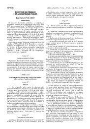 Decreto-Lei n.º 50-A/2007 - Portal das Finanças