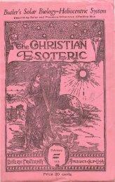 Christian Esoteric, February 1939 - Iapsop.com