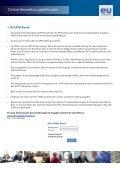 EU Careers Anleitung zur Online-Bewerbung - Europa - Page 2