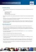 EU Careers Anleitung zur Online-Bewerbung - Europa - Page 3