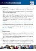 EU Careers Anleitung zur Online-Bewerbung - Europa - Page 4