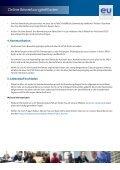 EU Careers Anleitung zur Online-Bewerbung - Europa - Page 7