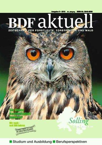 Ausgabe 06/2013 - BDF