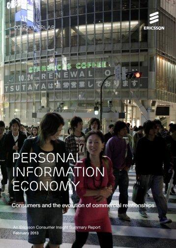 2013 - Personal information Economy.pdf - Ericsson