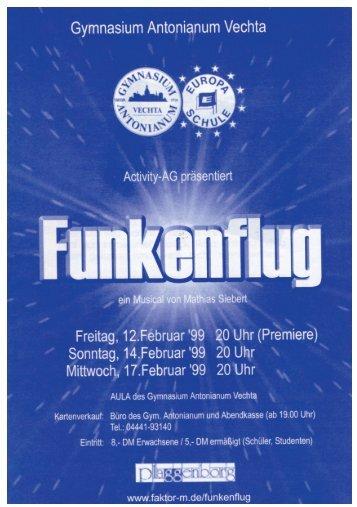 FUNKENFLUG EIN MUSICALPROJEKT DER ACTIVITY-AG