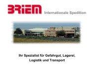 Internationale Spedition - Briem Speditions-Gmbh