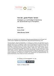 """Von der """"guten Praxis"""" lernen - Institut Arbeit und Qualifikation"""