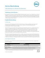 Service-Beschreibung - Dell