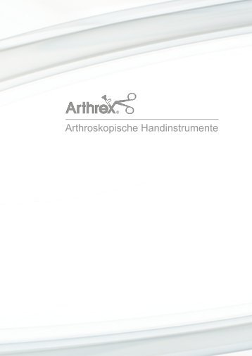 Arthroskopische Handinstrumente - Arthrex Vet Systems