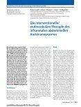 Elektronischer Sonderdruck für Die interventionelle/endovaskuläre ... - Seite 2