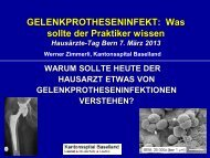 Gelenkprotheseninfekt