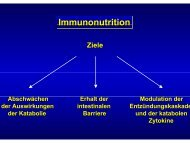 Immunonutrition - DGEM