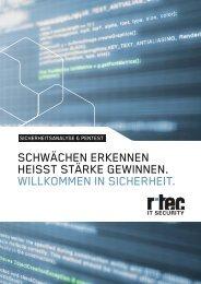 informationen zum thema - r-tec IT Security