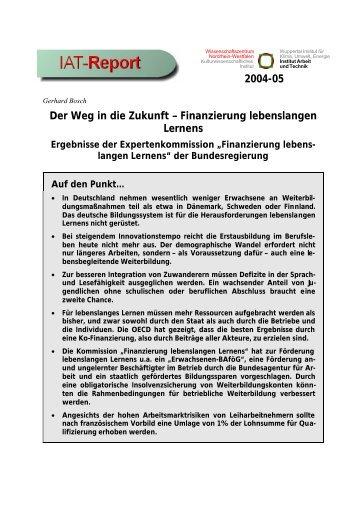 IAT-Report 2004-05 als PDF