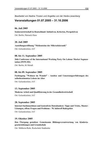 IAT Jahrbuch 2006