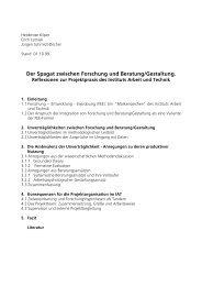 iv 7tekex ^[mwglir *svwglyrk yrh &ivexyrk +iwxepxyrk - Institut Arbeit ...