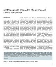 5.2 Measures to assess the effectiveness of smoke-free policies - iarc