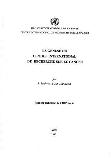 Télécharger La genèse du CIRC - iarc