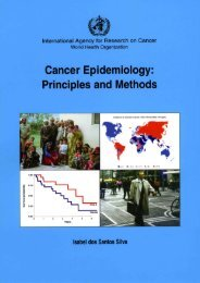 Cover Page, Contents, Foreword, About this book - IARC